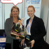 WATPF 2015 Lucky Lynne gets reward for hard work at the Bluegem Booth